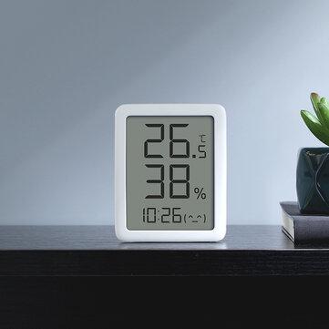 Miaomiaoce termómetro Higrómetro Reloj Temperatura Sensor de humedad