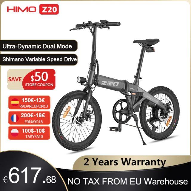 HIMO-Bicicleta Eléctrica Z20 plegable