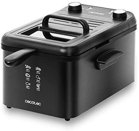 Freidora eléctrica CleanFry Infinity 3000 Black. 3 L Aceite
