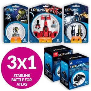 3x1 FIGURAS STARLINK CO-OP