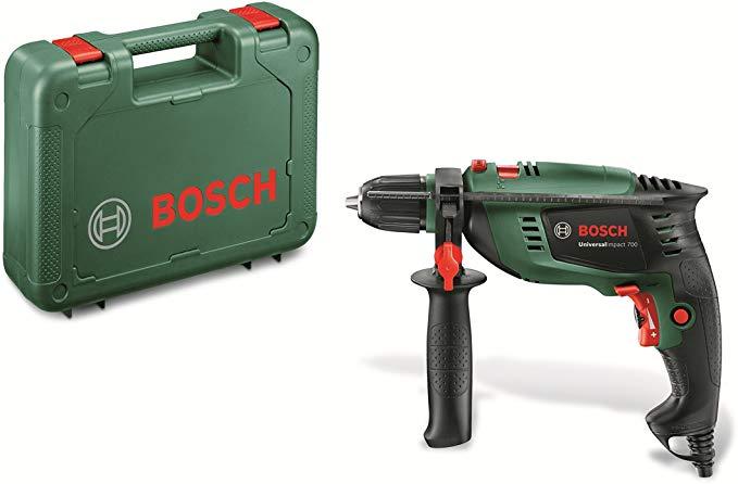 Taladro percutor Bosch 700W solo 59.9€
