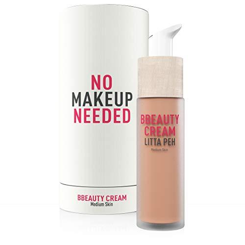 LITTA PEH - BBEAUTY BB CREAM - Crema facial Hidratante con Color - Tratamiento Anti-Imperfecciones para Pieles Grasas, Mixtas y Secas - 50ml