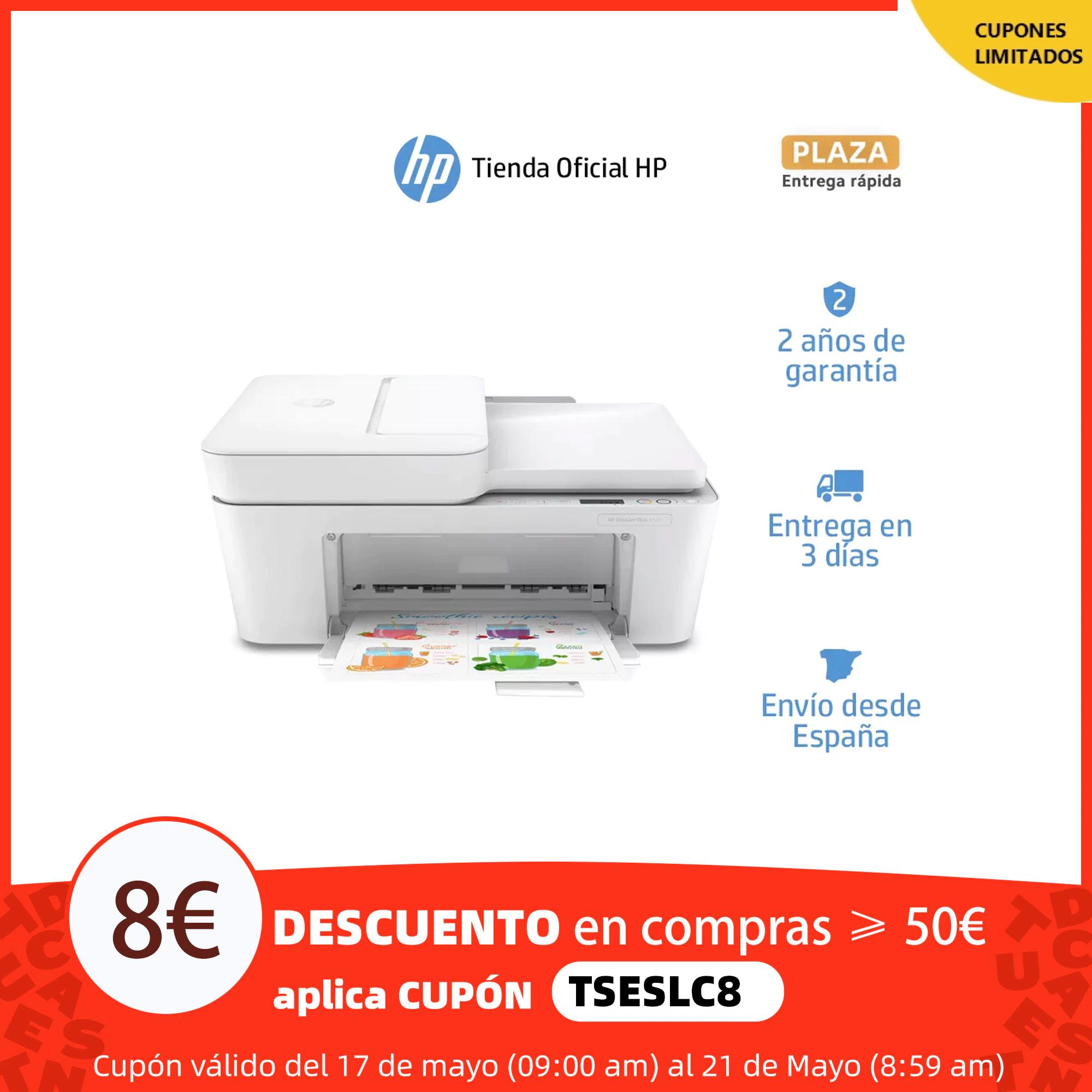 Impresora multifunción HP DeskJet Plus 4120
