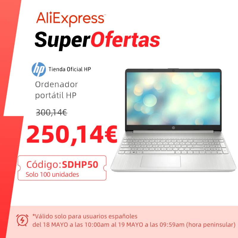 Equipo HP portatil por solo 250 € (Sin Sistema Operativo)