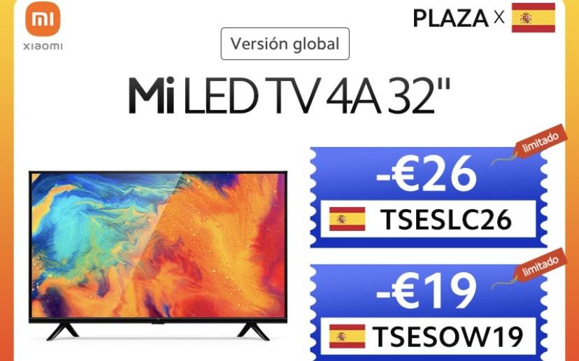 """Smart TV Xiaomi Mi TV 4A 32"""" desde España"""