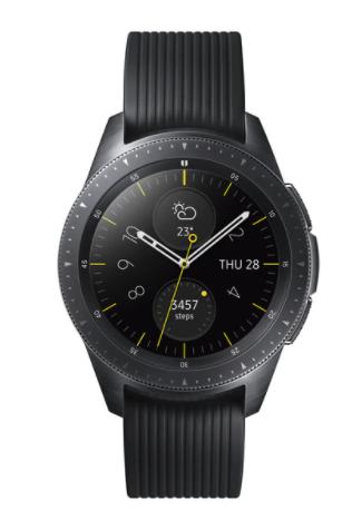 Samsung Galaxy Watch 42 mm BT Negro Smartwatch (Reacondicionado grado A)
