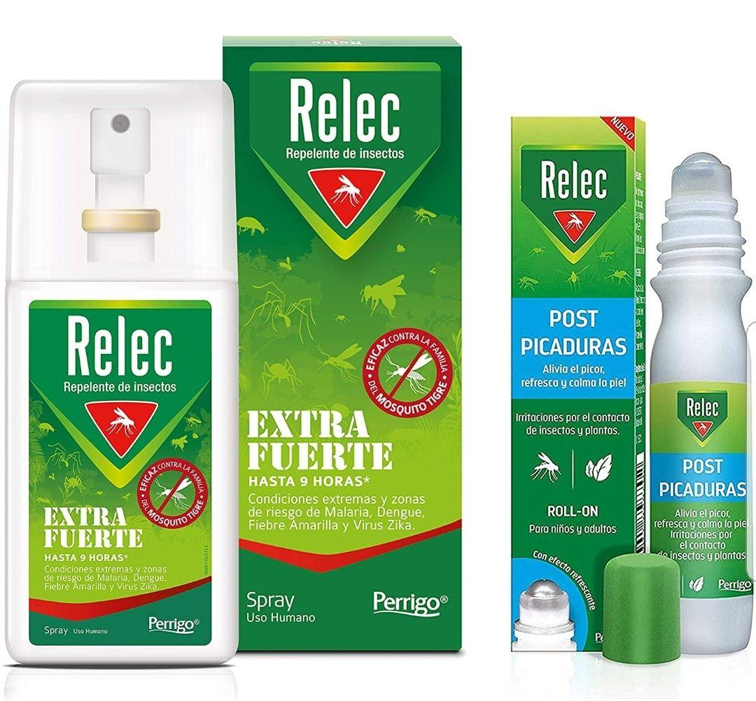 Pack Ahorro antimosquitos Relec Extra Fuerte + Relec Post-Picaduras