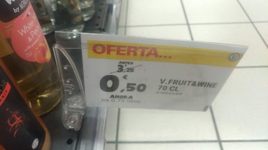Varias ofertas alcohol leclerc Pinto