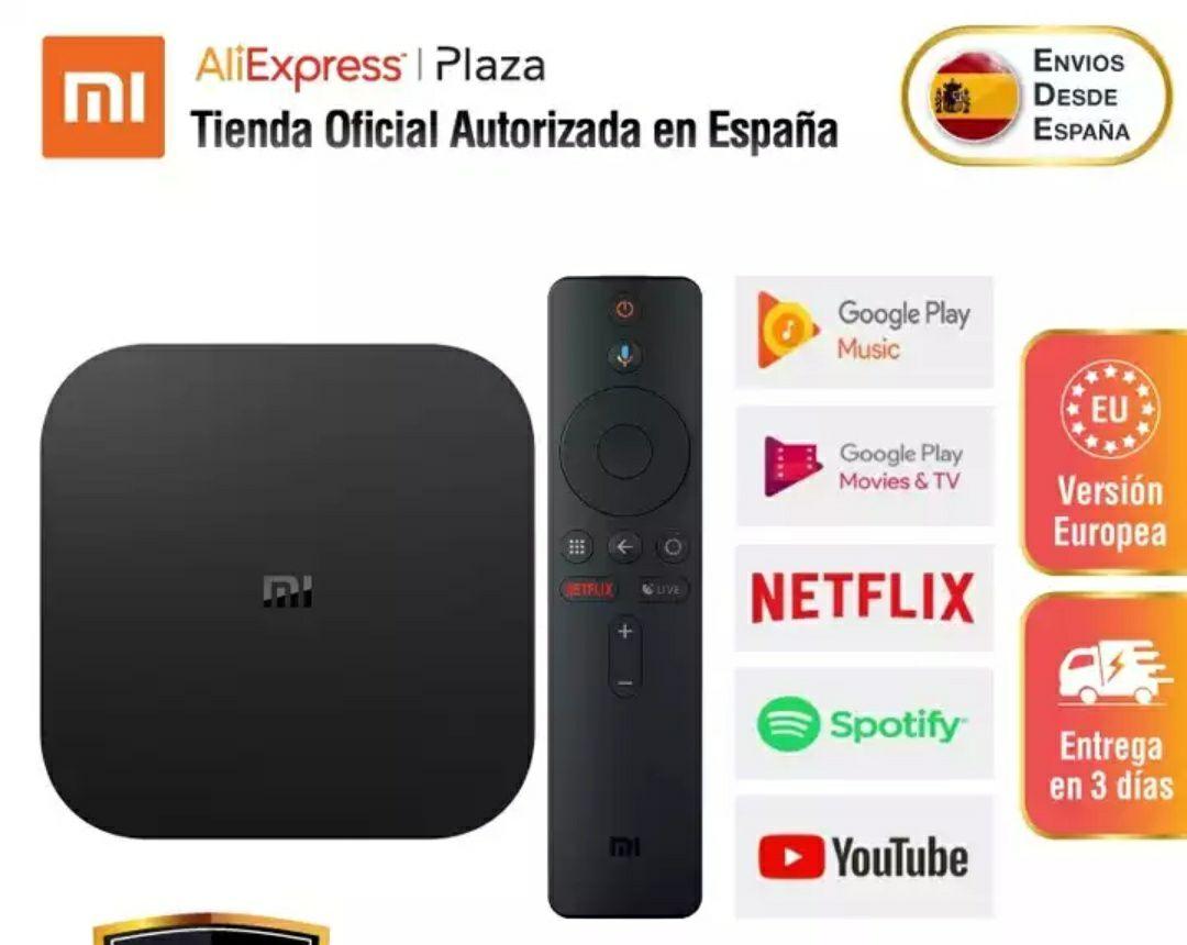 Xiaomi Mi TV Box S desde España