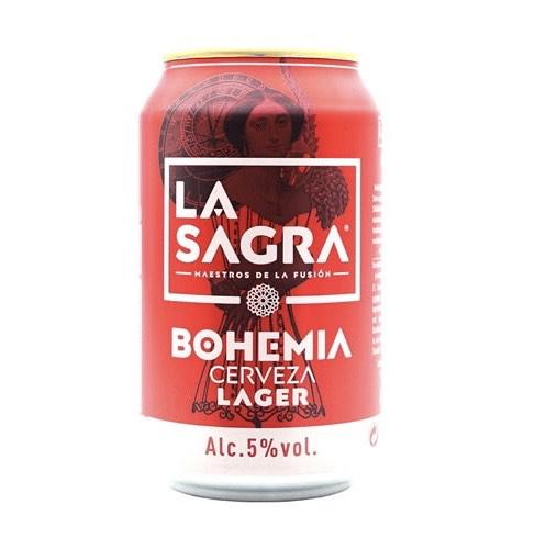 Cerveza Bohemia La Sagra