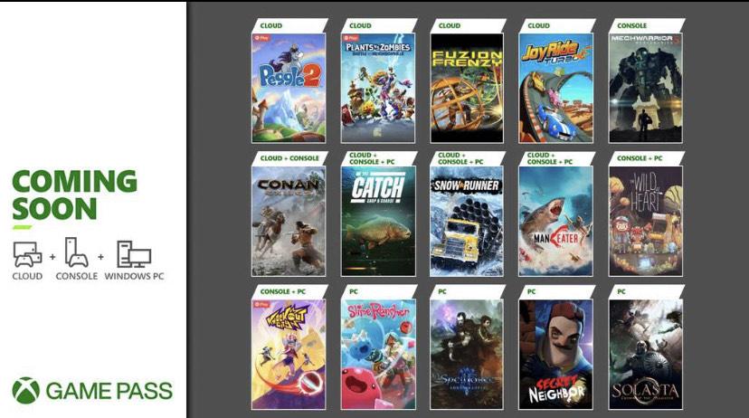 Xbox Game Pass Mayo: Snowrunner, Conan Exiles, Secret Neighbour…