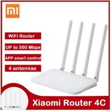 Xiaomi Mi Router WIFI 4C, APP Control 64 RAM 802,11 b/g/n 2,4G 300Mbps, inalámbricos.