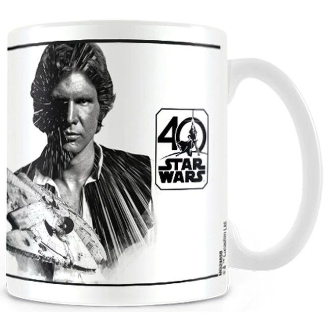Taza Star Wars Han Solo 40 Aniversario
