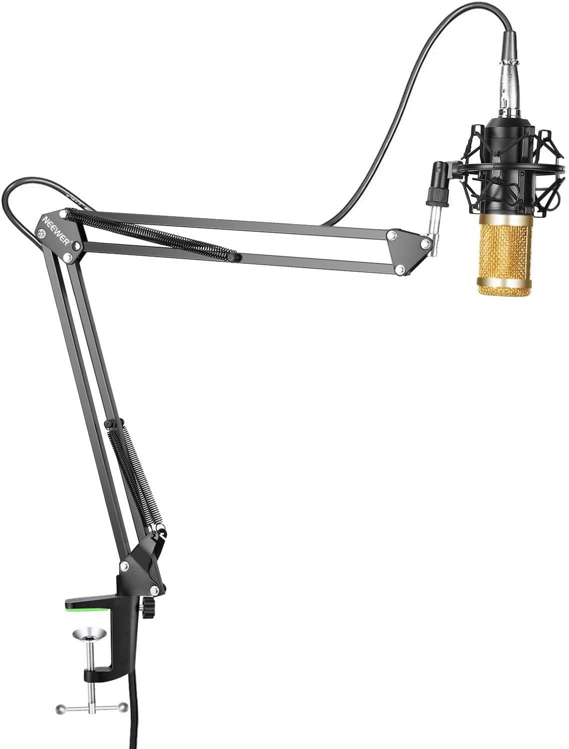 Neewer NW-800 Profesional Estudio Difusión grabación Micrófono condensador & NW-35
