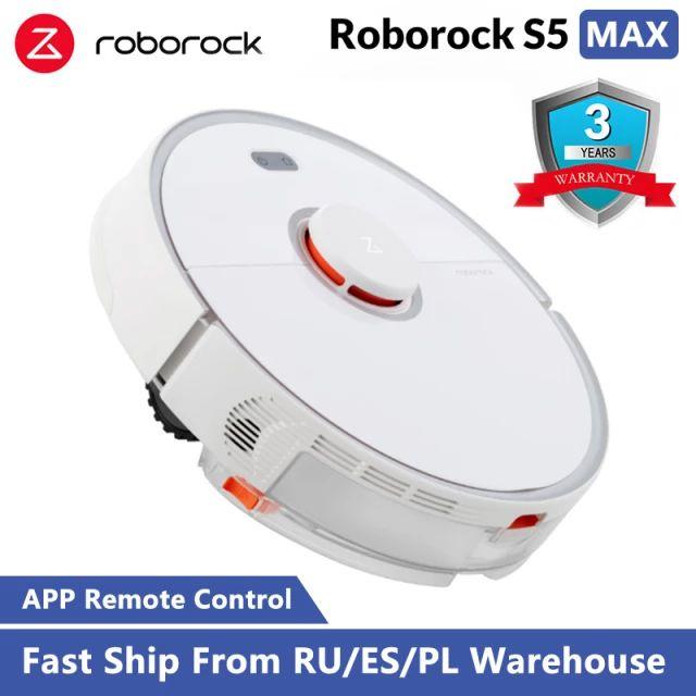 Roborock-Robot aspirador con barrido inteligente de uso doméstico