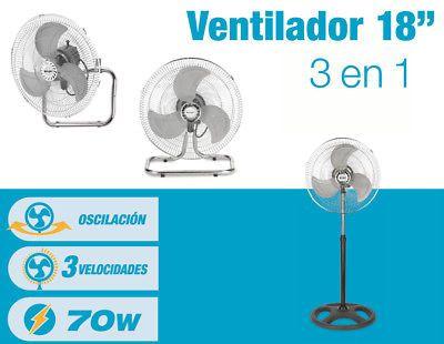 Ventilador industrial 3 en 1