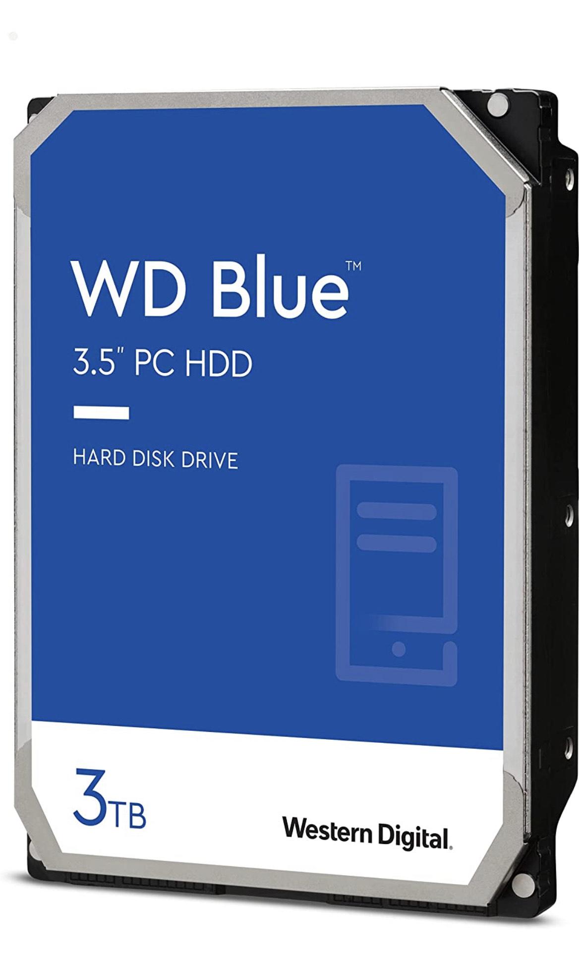 HDD Western Digital Blue 3 TB