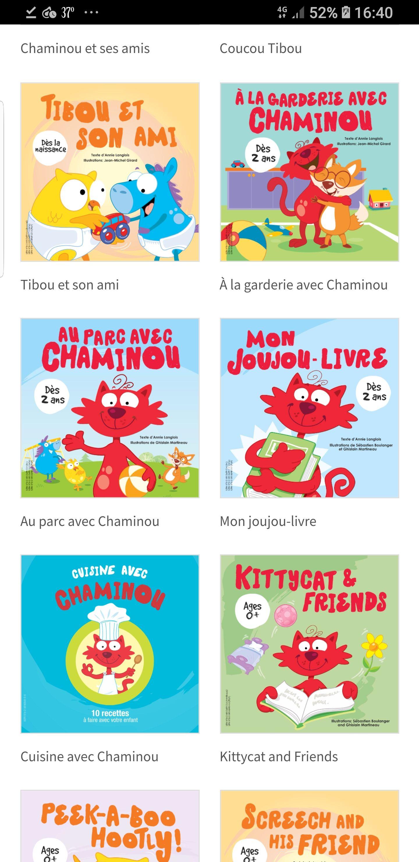 Libros en inglés y francés para los mas peques Gratis