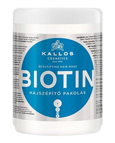 Kallos Biotin - Mascarilla para el Cabello, 1000 ml