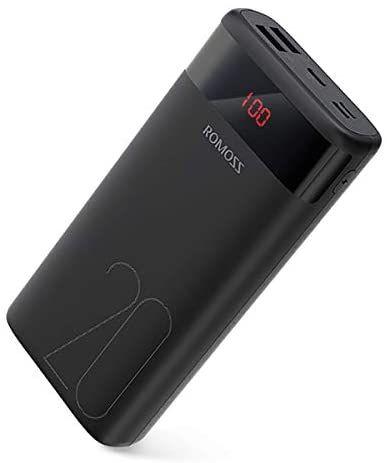 Romoss Batería Externa 20000mAh