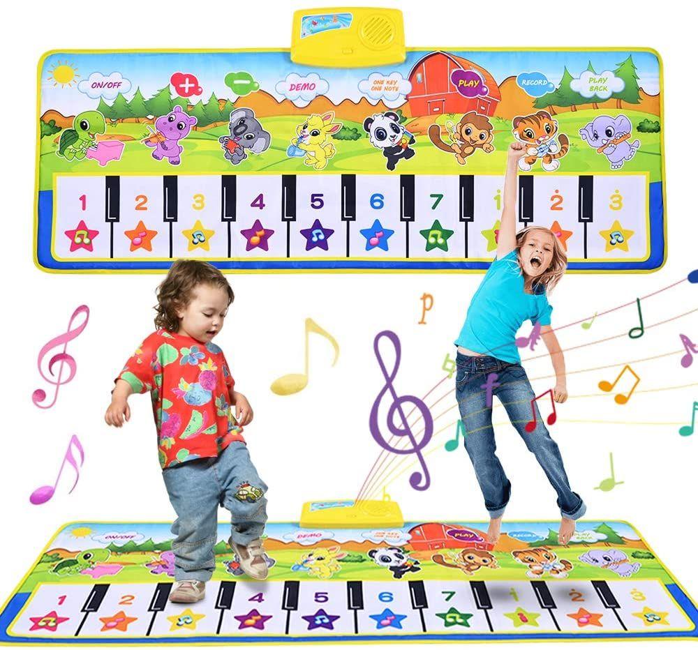 Faburo 100 * 42cm Alfombra Musical para niños