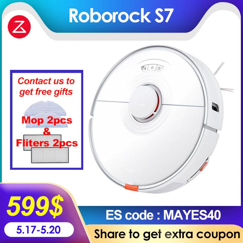 Roborock-Robot aspirador S7