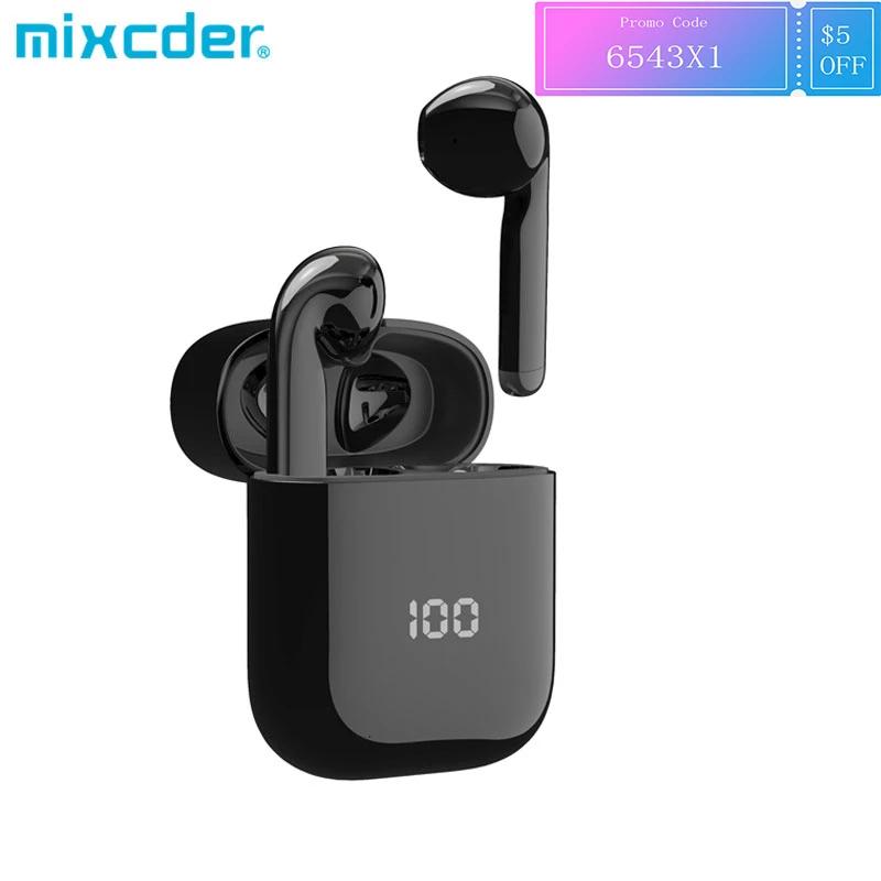 Mixcder X1-auriculares TWS inalámbricos por Bluetooth con 4 micrófonos, BT5.1