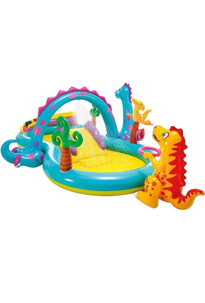Dinoland Play Center-Centro de juegos acuático hinchable