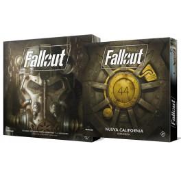 Pack Fallout y su expansión Nueva California (Juego de Mesa)