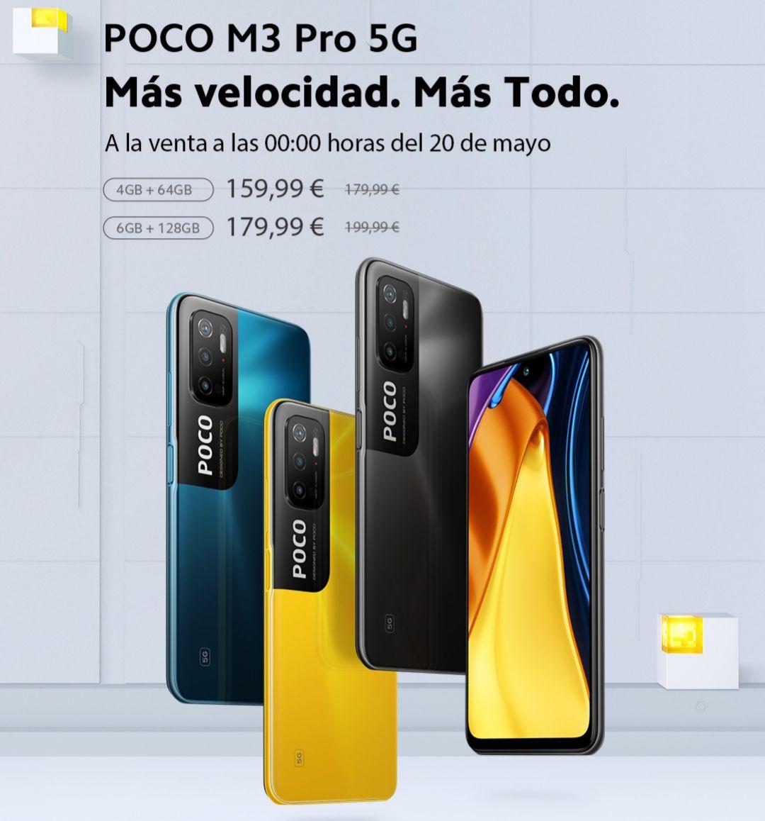 POCO M3 PRO 5G (oferta de lanzamiento)