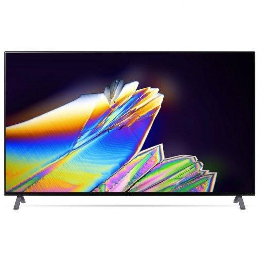 "TV LED 55"" - LG 55NANO956NA.AEU, UHD 8K, Nanocell IPS, Procesador 8K alfa9 Gen3 con AI, 40W, Negro"
