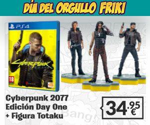 Cyberpunk 2077 Day One + figura Totaku