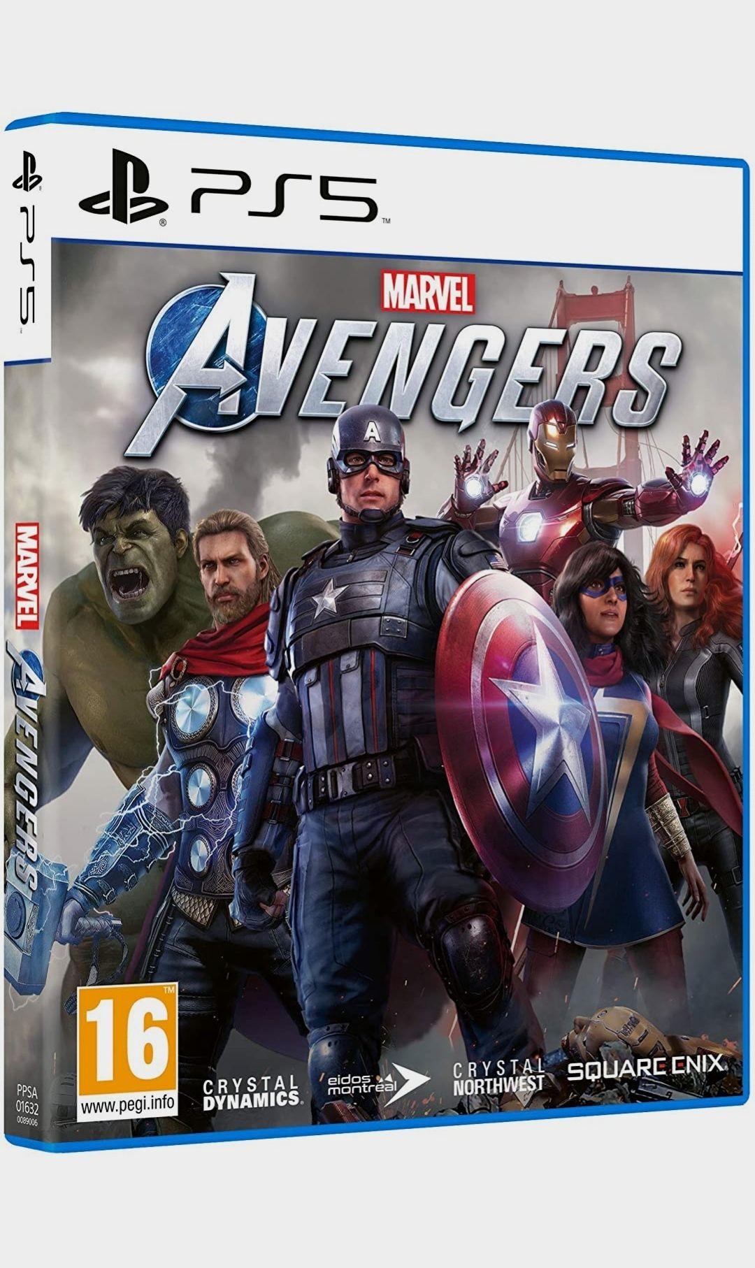 Marvel Avengers PS5 y PS4 (Amazon)