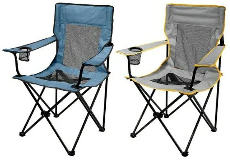 Silla camping 2 colores agotada en tiendas físicas. Próximamente online