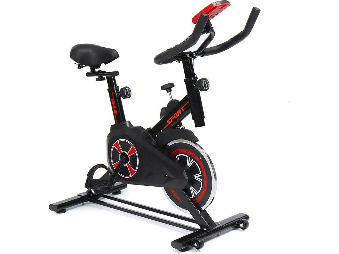 Bicicleta Estática INSMA IS - EB02 até 150kg (85x46.5x110cm - Negro)