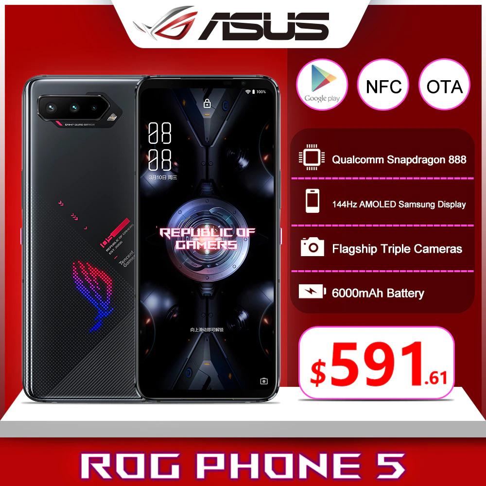 Asus ROG Phone 5 12GB+256GB [Versión China con Rom Global]