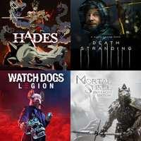 Mortal Shell 10€, Hades 6€, Metro Exodus 6€ , Watch Dogs: Legion 20€ y Death Stranding 14€
