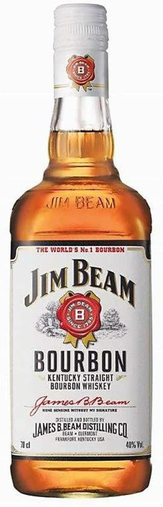 6 Botellas de Bourbon Jim Beam por 29€ (4200ml)
