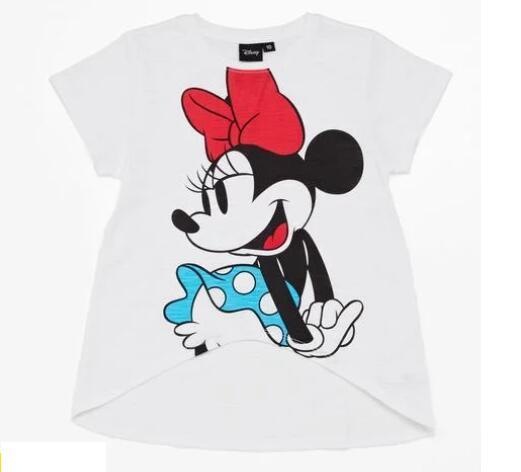 TALLAS 12 y 16 AÑOS - Camiseta Minnie para Niñ@s (En Rosa Talla 12 Años)