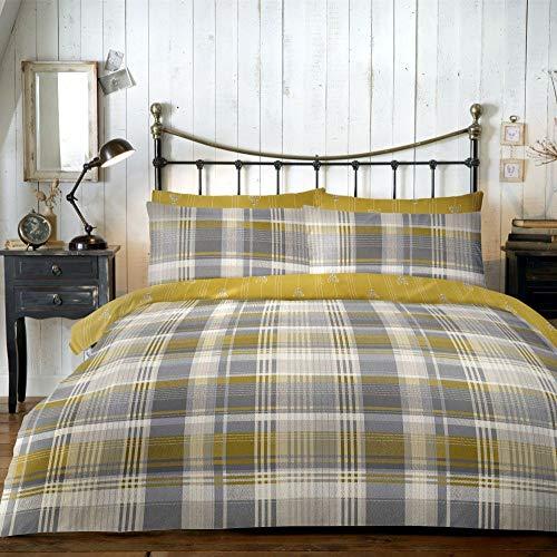 Ropa de cama para invierno, Tamaño King (cama 150) 100% algodón cepillado