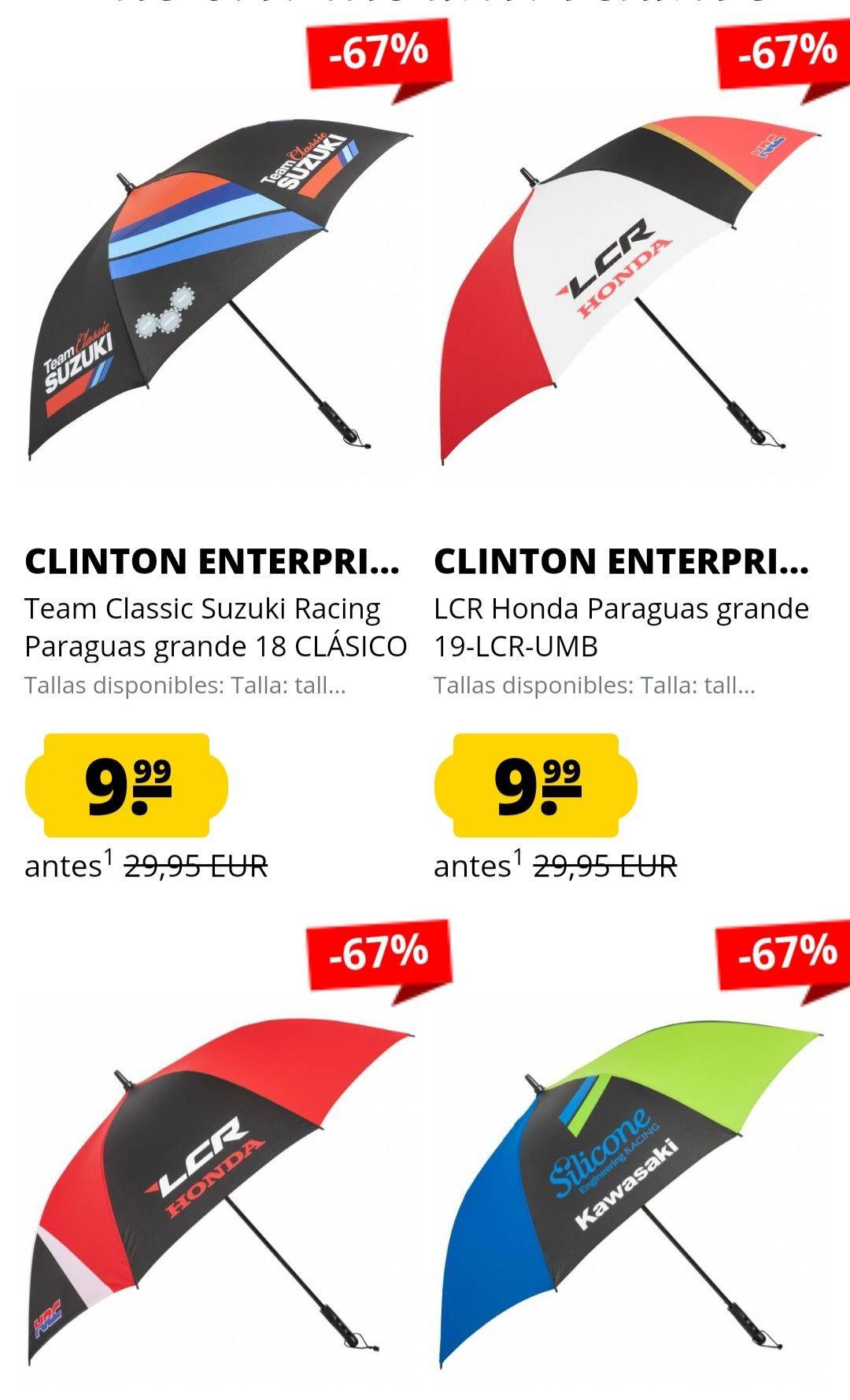 Paraguas Oficiales WorldSBK (Todos los Equipos)