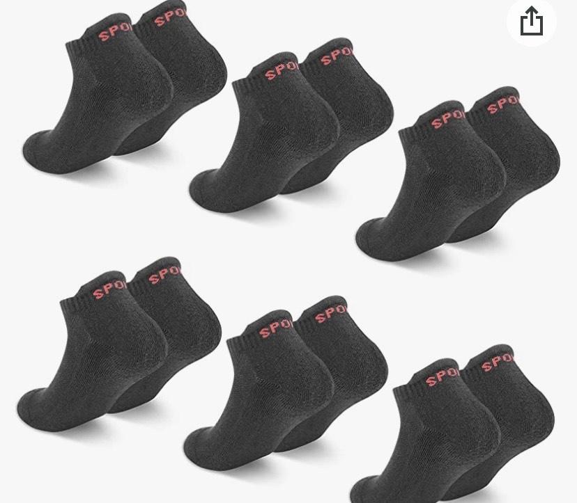 6 pares de calcetines Talla de la 35 a la 42