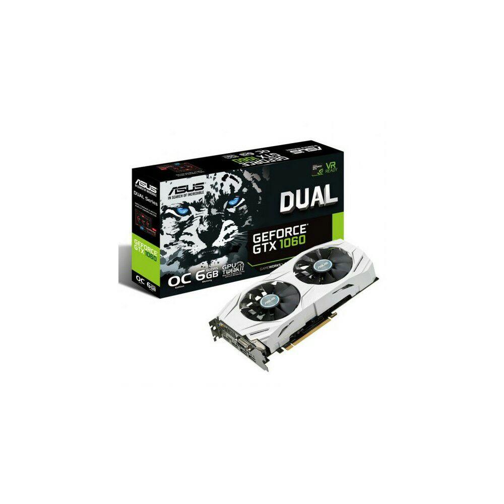 Tarjeta Gráfica Asus Dual GTX1060 OC/6GB Reacondicionado