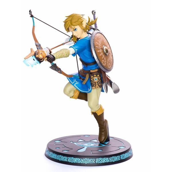 FIRST 4 FIGURES The Legend of Zelda Breath of the Wild Estatua PVC Link 25 cm