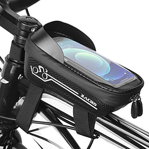 Bolsa impermeable para manillar de bicicleta
