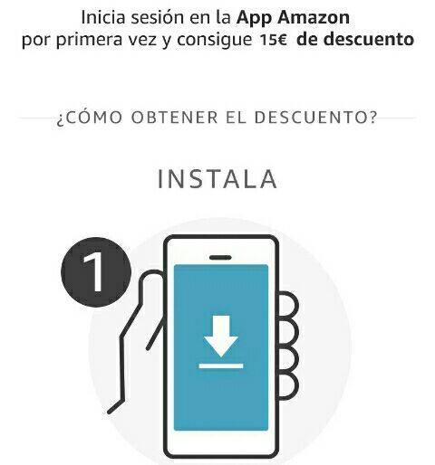 Código promocional de 15 euros por usar la App por primera vez