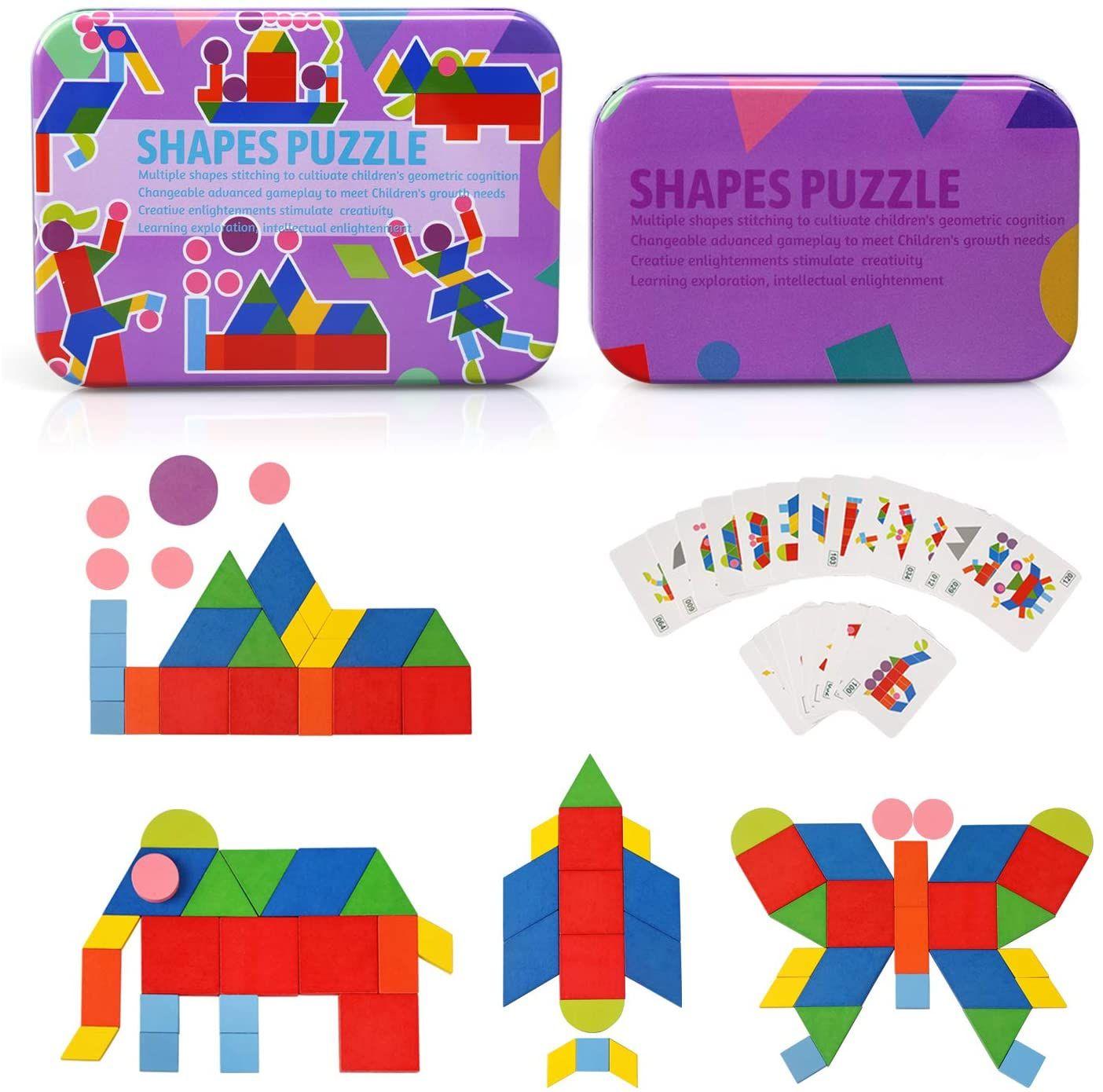 Ballery Puzzle de Madera, Juegos Educativos