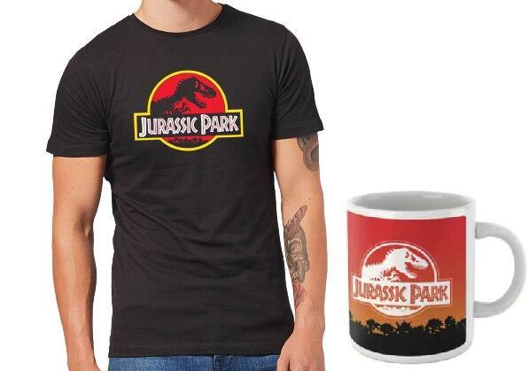 Camiseta + taza Jurassic Park por 9,99 €