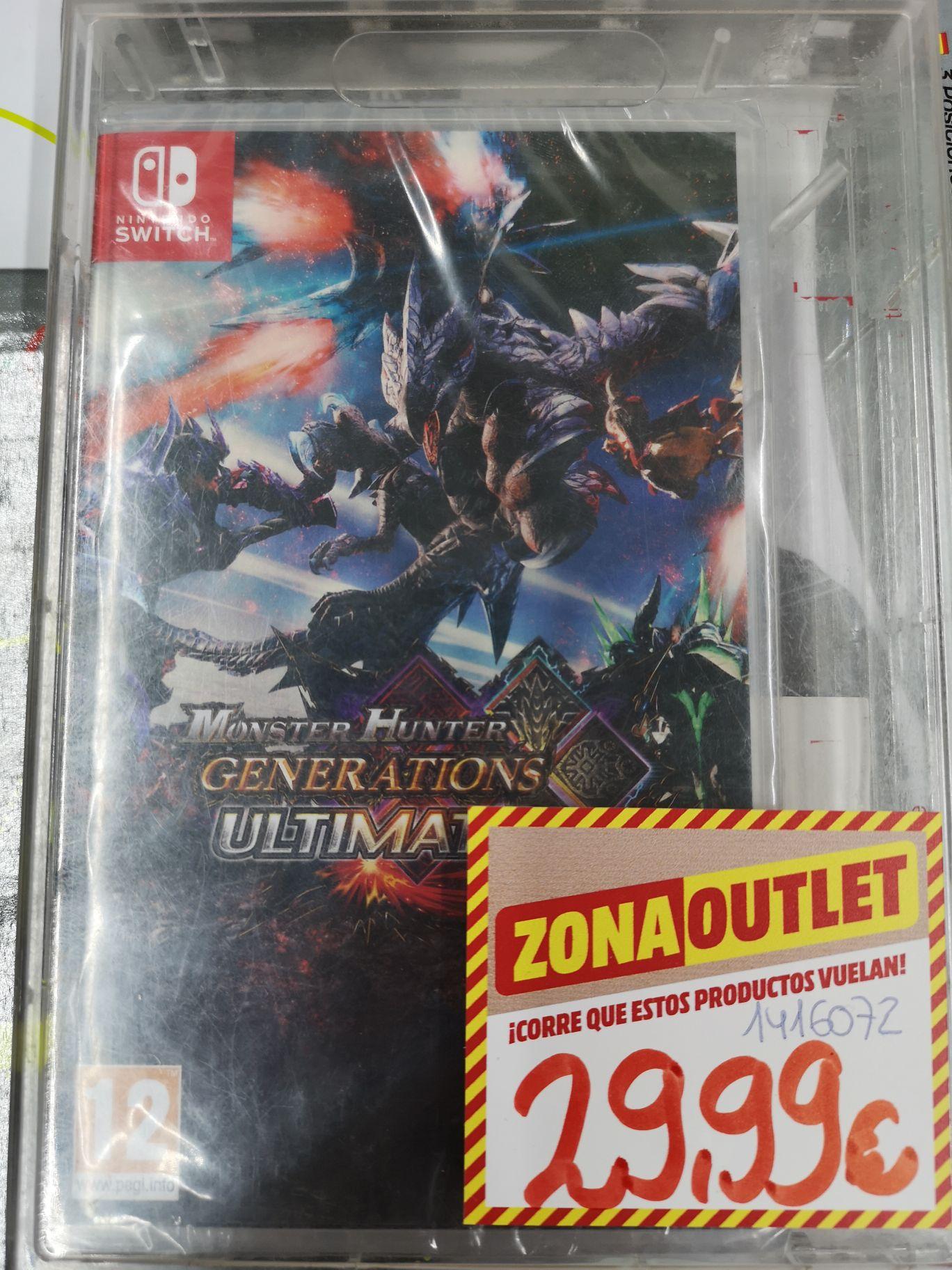 Switch Monster Hunter Ultimate Mediamarkt Castellón