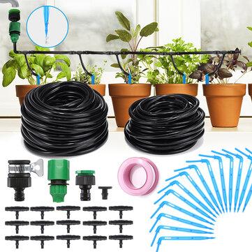 Sistema automático de riego por micro-goteo 10M 8M 37PCS riego automático por pulverización de riego de jardín